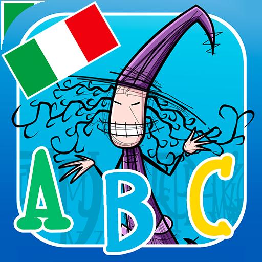 Impariamo l'alfabeto con la strega Naailde