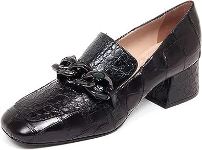 ALBERTO GOZZI F6934 Decollete Donna Black Scarpe Shoe Woman