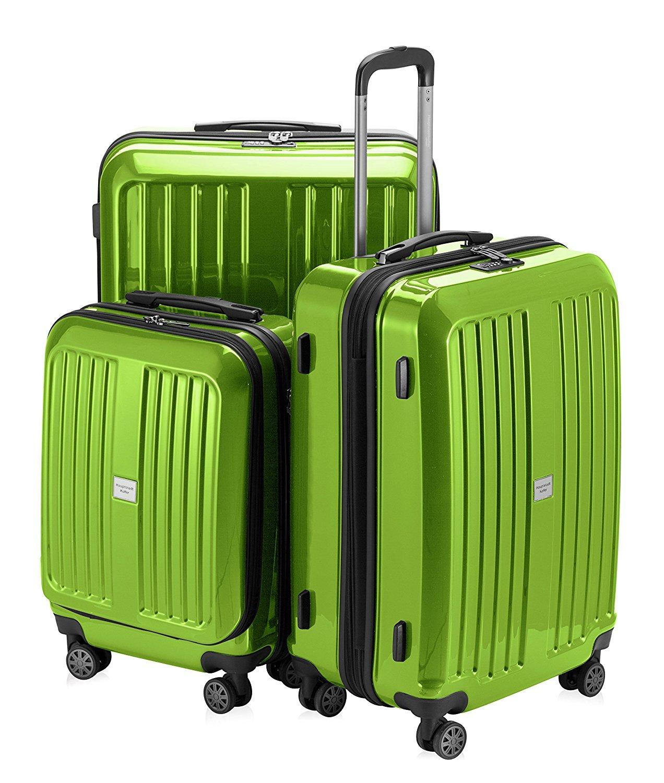 Hauptstadtkoffer-Serie-X-Berg-3er-Kofferset-Hartschale-Trolleys-apfelgrn-glnzend-TSA-Schlo-126L90L42L-Vier-gummierte-360-Leichtlauf-Doppelrollen-6-cm-Dehnfalte