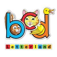 Letterland Stories: Bouncy Ben, Clever Cat & Dippy Duck