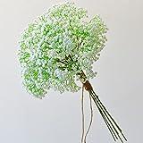 FEIGO 5 Piezas Plantas Artificiales Gypsophila, Flores Artificiales Falsos, Artificial Gypsophila Paniculata Flor para Decora