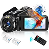Video Camera Camcorder DIWUER 2021 Upgraded 2.7K HD 1080P 42MP Vlogging Camera For YouTube 18X Digital Zoom 3.0' LCD 270…
