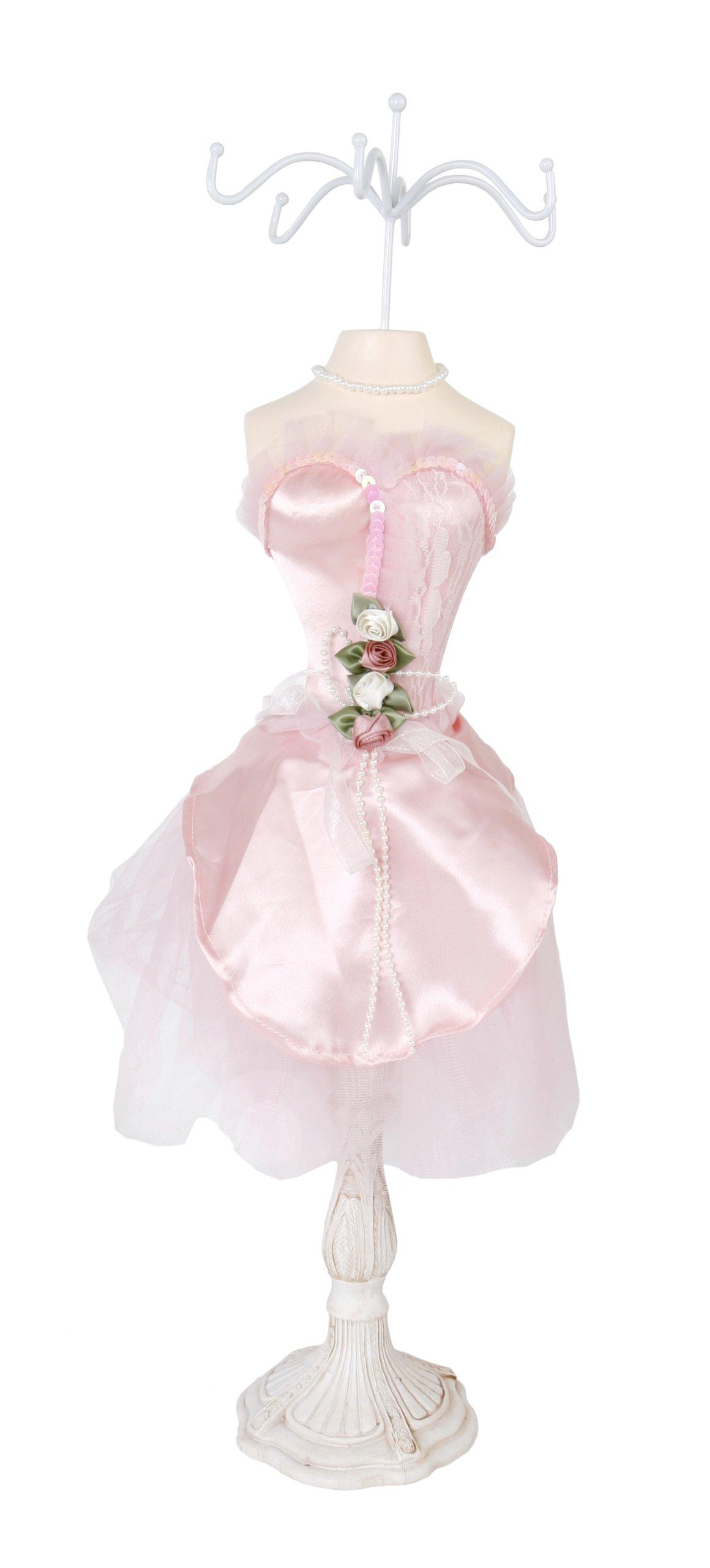 ROSA 2 Rosen Armbandständer 60cm Schmuckständer Ständer Kettenständer Uhrenständer Kette