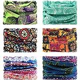 Fascia elastica multifunzionale Sport all' aria aperta senza giunte magico copricapo foulard sciarpa con UV ultravioletti, So