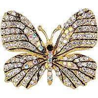Gespout Elegante Moda Spilla Lady Spilla Accessori D'oro Corpetto Strass Farfalla Animale Gioielli Perno Regalo di…