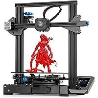 3 idea Imagine Create Print tpu Creality Ender 3 V2 ORIGINAL Upgraded Version 3D Printer (Black, Pack of 1) Unisex