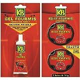 KB Pack de Lutte Contre Les Fourmis 2 Boites et 1 Tube de Gel