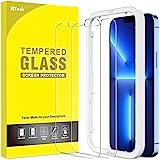 JETech Schermbeschermer Compatibel met iPhone 13 Pro Max 6,7-Inch, Gehard Glas Screen Protector met Eenvoudig te Installeren