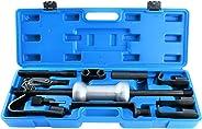 FreeTec 13tlg. Uitdeukset glijhamer auto gereedschap 3 kg Universal slaghamer trekker