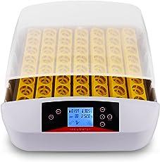 Sailnovo Brutmaschine, Inkubator, Eier, automatisch, 56Eier, Intelligent, Digital, Inkubationsgerät, Schlüpfen von Küken, Brutmaschine