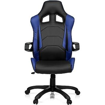 Hjh Office 621839 Gaming Chefsessel Racer Pro I Kunstleder Schwarz