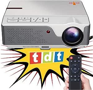 Beamer Nativer Full Hd 1080p Projektor Unicview Fhd950 1920 X 1080 6 500 Led Lumen Günstige Maximale Helligkeit Des Projektors Tragbares Led Heimkino Ac3 Hdmi Usb Mkv Tv Integriertes Weiß Heimkino Tv Video