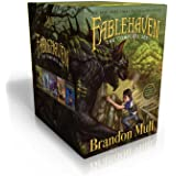 Fablehaven Complete Set (Boxed Set): Fablehaven; Rise of the Evening Star; Grip of the Shadow Plague; Secrets of the Dragon S