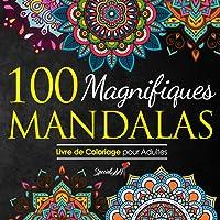 100 Magnifiques Mandalas: Livre de Coloriage pour Adultes, Super Loisir Antistress pour se détendre avec de beaux…