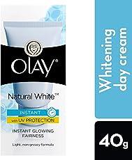 Olay Natural White Light Instant Glowing Fairness Skin Cream Serum, 40g