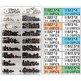 Akuoly PC schroeven gesorteerde set M2 M3 M2.5 computerschroeven HDD M.2 SSD schroeven voor universele laptop PC computer rep