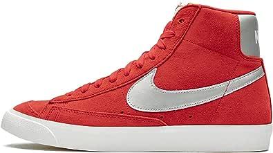 Nike blazer mid 77 red-grey da uomo - 40.5