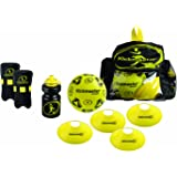Kickmaster Backpack Training Kit - Black/Yellow