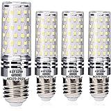E27 LED Blé Ampoules 12W Blanc Froid 6000K Équivalent à 100W Halogène Ampoules, Edison Vis LED Lumière Ampoules, sans scintil