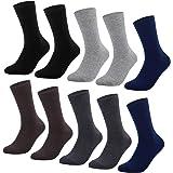 YouShow sokken heren dames unisex katoenen sokken voor zakelijke comfortbandjes