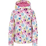 Trespass Girls Waterproof Popstar II Hooded Rain Jacket Coat