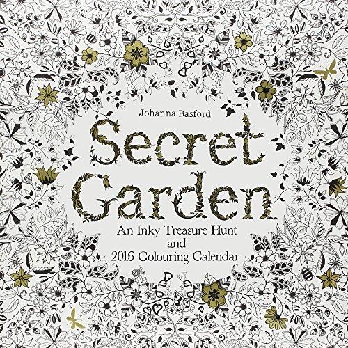 Secret Garden 2016 Colouring Calendar par Johanna Basford