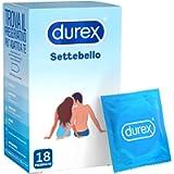 Durex Settebello Classico Preservativi, 18 Profilattici