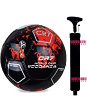 Voodania Avatoz Brazuca Replica Football - Size: 5, Diameter: 26 Cm (Pack Of 1, Multicolor)