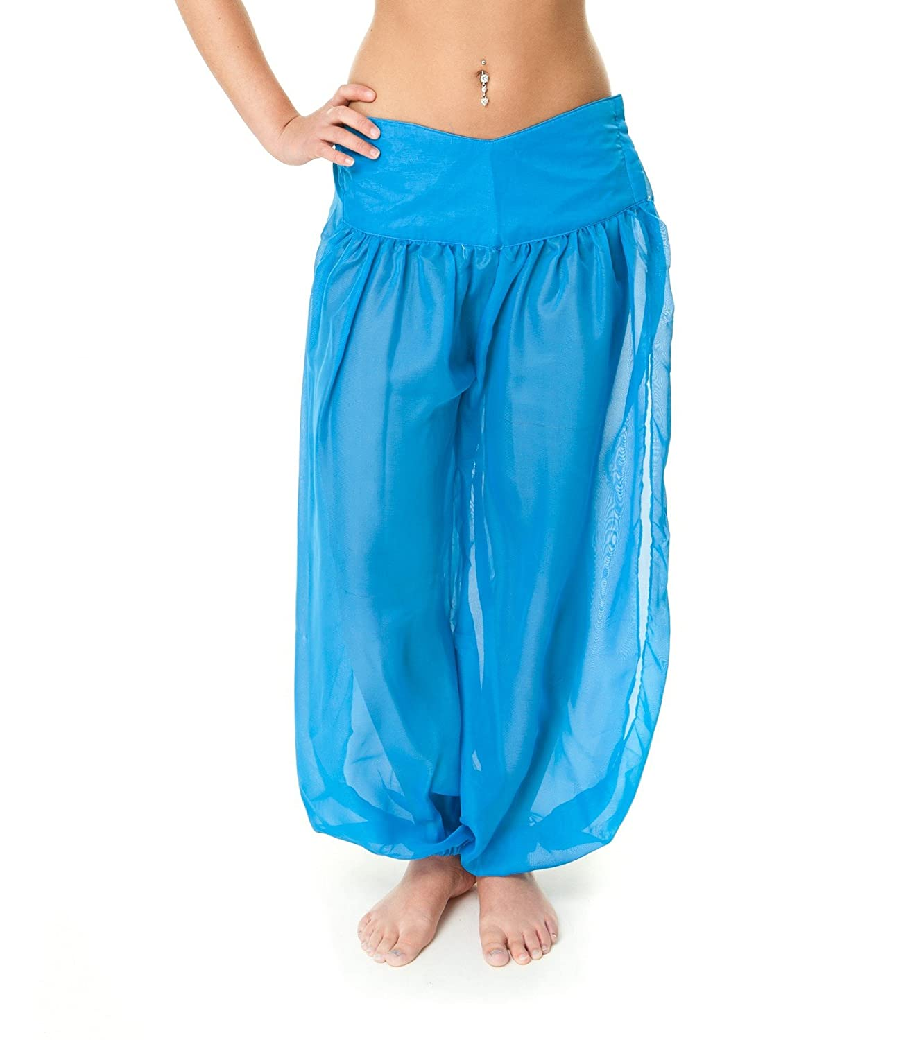 The Turkish Emporium SAROUEL PANTALON DANSE ORIENTALE bollywood DANSE DU  VENTRE Aladin Hippie Ethnique Yoga (Blanc) Amazon.fr Vêtements et  accessoires