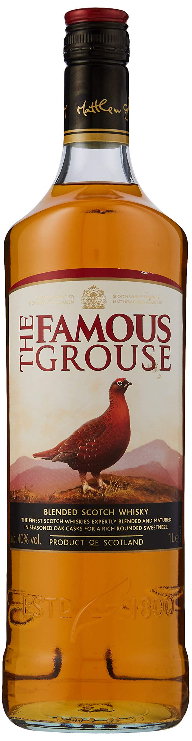 The Famous Grouse Blended Scotch Whisky, 1L