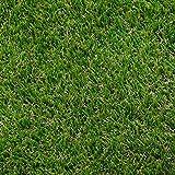AMANKA Kunstrasen 200x150cm Rasenteppich 30mm Kunstrasen-Teppich 2600g/m² Künstlicher Rasen Wasserdurchlässig Grün