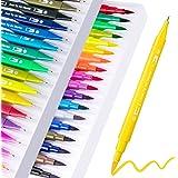 Akrylic Paint Pens, 18 färger Permanent Paint Art Markers Waterbased Pen Set för fotoalbum, canvas, DIY hantverk, skolprojekt