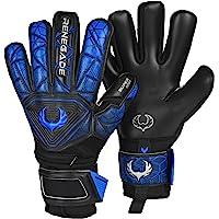 Renegade GK Vortex Goalie Gloves with Microbe-Guard (Sizes 6-11, 3 Styles, Lvl 3) 3.5+3mm Hyper Grip & Super Mesh | Best…