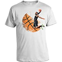 bubbleshirt Tshirt Basket- NBA- Pallacanestro- Slam Dunk- - in Cotone