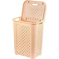 Cello Classic Plastic Laundry Bag/Basket, 30 Litres, Beige