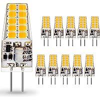 AUTING LED G4 Lampen,3.5W G4 LED Birnen 3000K Warmweiß 400lm, Ersatz für 30W Halogenlampen,Kein Flackern Nicht Dimmbar…