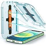 Spigen GLAStR EZ FIT [2 Pack] designed for iPhone 12 Mini Screen Protector (5.4 inch) Premium Tempered Glass - [Case Friendly