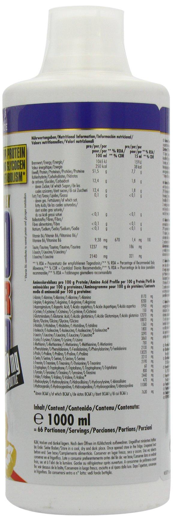 71lY3W2KDLL - Weider Amino Power Liquid 1L Energy, Essential Amino Acids, L-leucine, Free Taurine, Vitamin B8