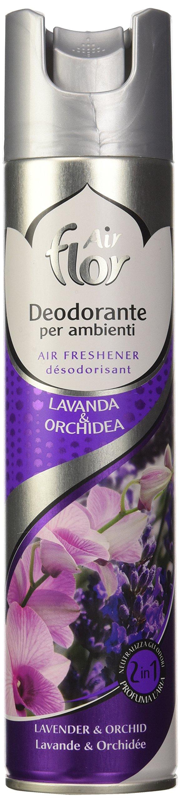 Air Flor Deodorante per Ambiente con Lavanda e Orchidea - 300 ml
