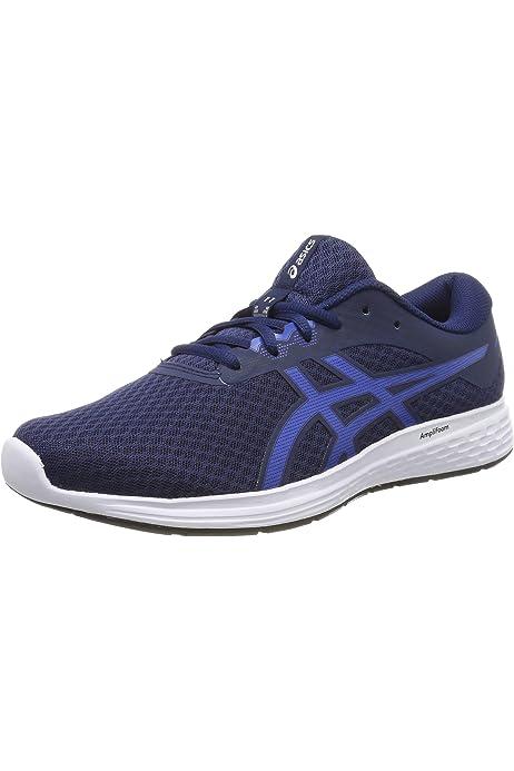 Asics Patriot 10, Zapatillas de Running para Hombre, Azul (Imperial/White 402), 40 EU: Amazon.es: Zapatos y complementos
