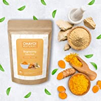 Ohayo! Brightening Face Pack 100gm   Multani Mitti, Turmeric   100% Natural   Healthy Glow   Removes Tanning, Tones Skin…
