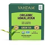 VAHDAM, Biologico Tè verde in foglie dall'Himalaya (30 bustine) - 100% Tè naturale disintossicante e snellente, perfetto per