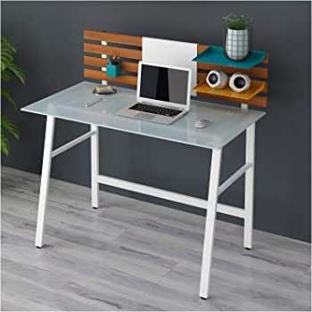ctf leroy computer desk writing desk home office computer rh amazon co uk glass writing desk for sale glass drawing desk