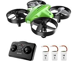 Mini Drone,Drone per Bambini,Funzione Hovering,Modalità Senza Testa,Rotazione a 360°,Decollo/Atterraggio a Un Tasto, velocità