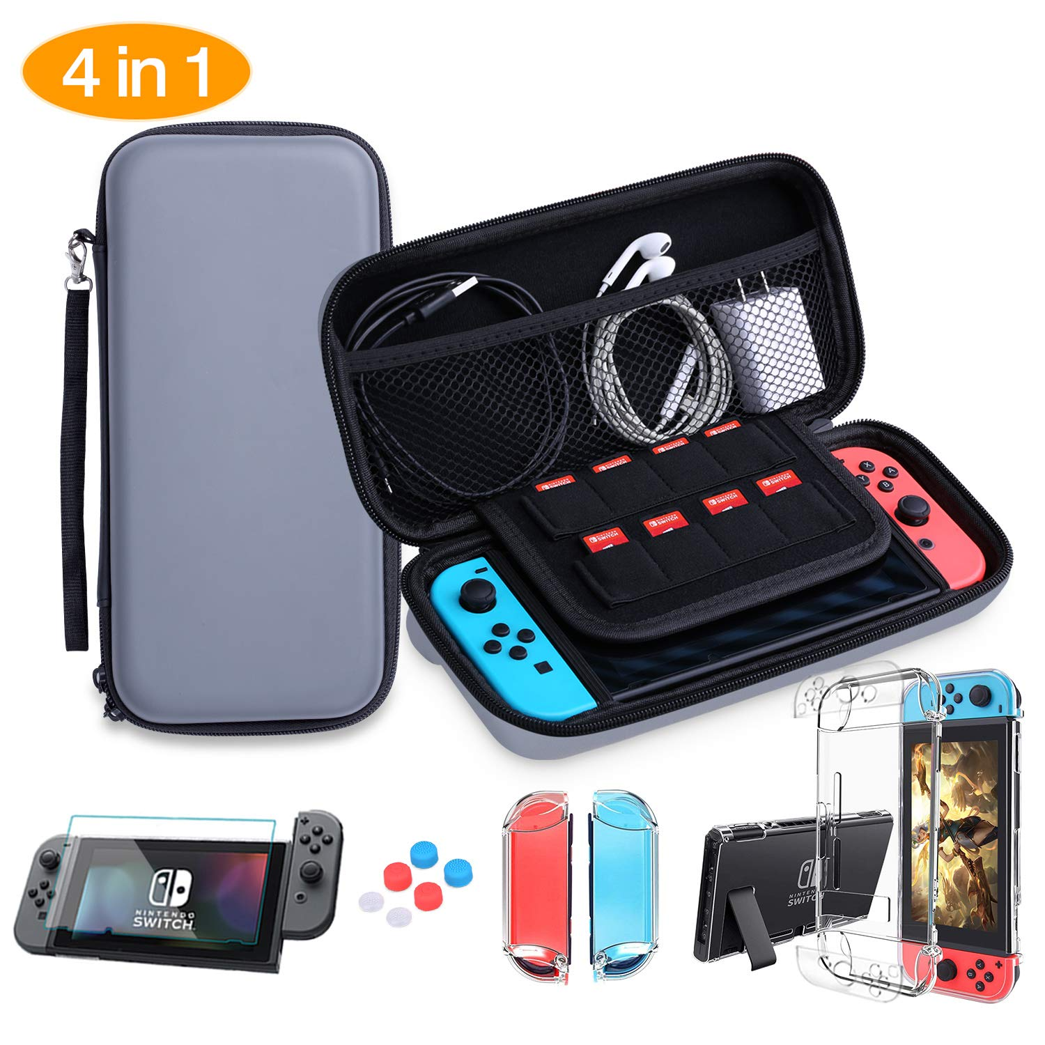 HEYSTOP Nintendo Switch Accesorio, Nintendo Switch Funda