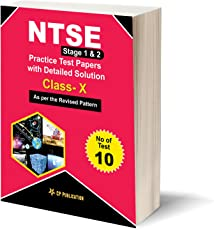 NTSE Mock Test Papers with Detailed Solutions By Career Point Kota -As Per Revised Pattern
