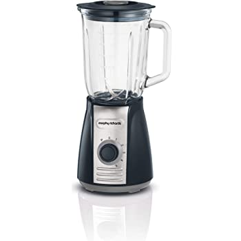 Morphy Richards 403010 Table Blender with Ice Crusher Blades 600 W, 1.6 liters, Grey