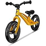 Lionelo LOE Goldie skägg körcykel Balance Bike från 18 månader upp till 30 kg magnesiumram underhållsfri 30 cm Eva hjul ratt