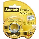 3M Scotch dubbelzijdig plakband, verwijderbaar