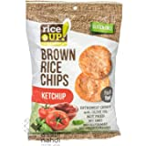 Rice Up Rice Chips With Ketchup, 60 g, Pack of 1 132